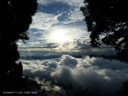 above the cloud nine, where the sunshine